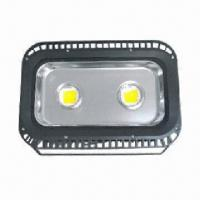 Buy cheap LED Floodlight with 85 to 277V AC Input Voltage, 50,000 Hours Lifespan and 10,000lm Luminous Flux from wholesalers