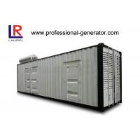 Buy cheap Self - exciting Container Genset 1200 kw Container Type Silent Diesel Genset from wholesalers