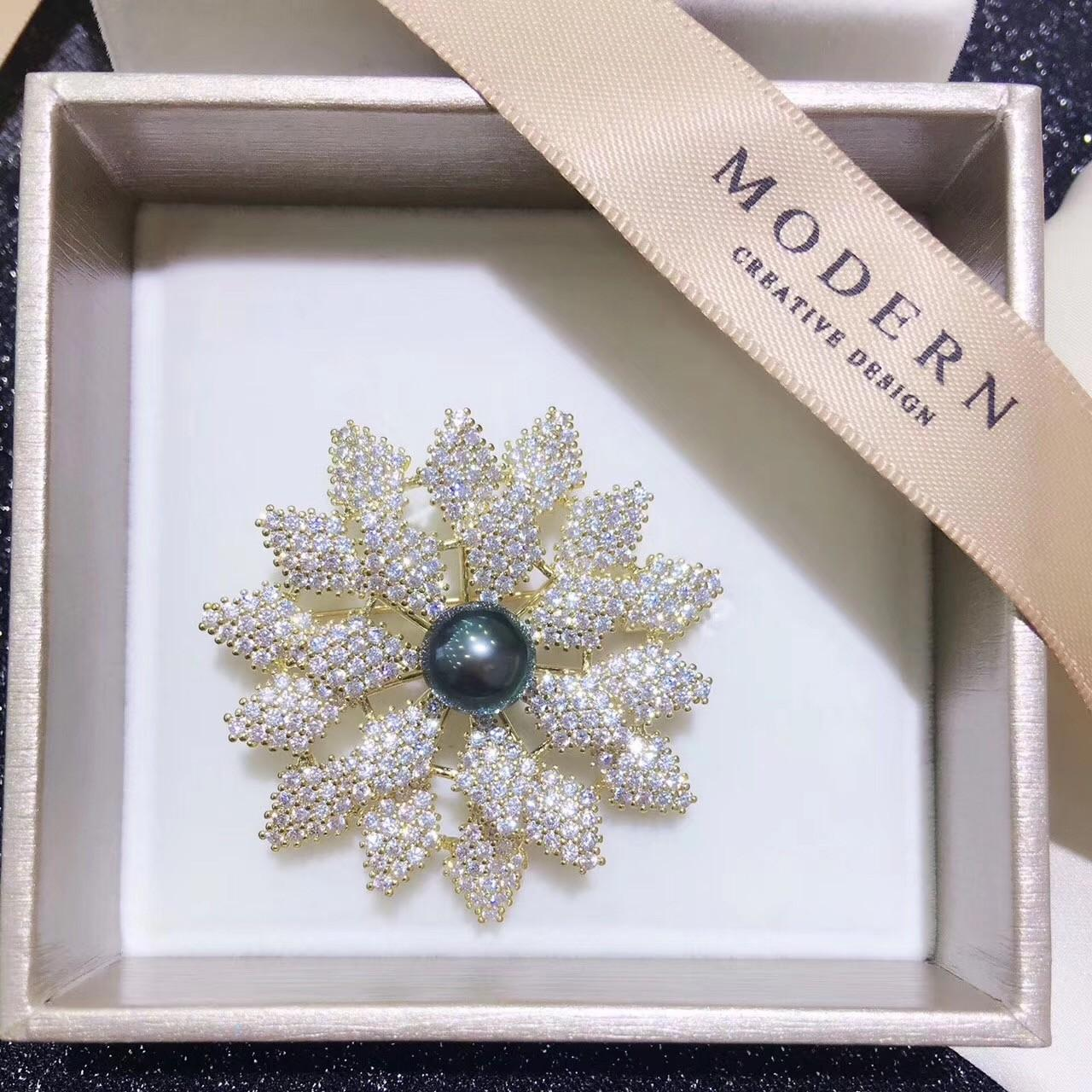 Buy cheap 18K gold south sea Pearl Brooch_0444 from wholesalers