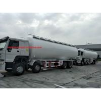 Buy cheap Sinotruk Howo 6x4 336 Hp Bulk Cement Truck For Tansport Powder 20m3 With Air Compressor from wholesalers