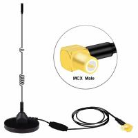 Buy cheap MCX Magnetic Radio Antenna Combined Vehicle Mounted AM/FM DAB Screw Thread from wholesalers