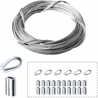 Buy cheap 316 Marine Grade Railing Kit Aircraft 2mm Stainless Steel Wire Rope from wholesalers