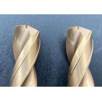 Buy cheap High Precision Solid Carbide Drill , Carbide Micro Drills With High Hole Surface from wholesalers