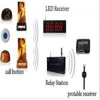 Buy cheap Wireless Calling System with Protable Watch Pager and CE Certification from wholesalers
