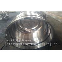 Buy cheap 1.6981 21CrMoNiV4-7  Metal forged part  EN10269 Forged Rings from wholesalers