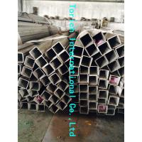 Buy cheap Rectangular Welded Steel Tube , ASTM A554 Welded Stainless Steel Mechanical Tubing from wholesalers
