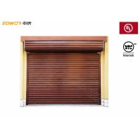 Buy cheap Four Hours Rating Rolling Steel Fire Door / Gray Fire Rated Roller Shutter from wholesalers