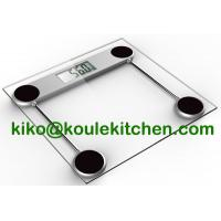 Buy cheap Electronic Body Weight Scale, Cheap Glass digital Bathroom Scales from wholesalers