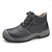 Buy cheap Anti Smashing Waterproof Soft Toe Work Boots Barton Buffalo Leather Material from wholesalers