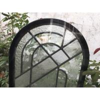 Buy cheap Round Top Architectural Decorative Panel Glass , Solid Flat Tempered Glass Panels from wholesalers