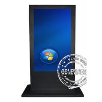 Buy cheap 55 Inch Touch Screen Kiosk with 1920*1080 , Full HD Colorful Screen from wholesalers