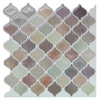 Buy cheap Clever Mosaics home decoration peel and stick mosaic tile for kitchen backspalsh (6pcs pack) from wholesalers