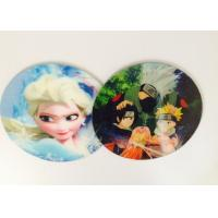 Buy cheap Customized Flip Effect Lenticular 3D Fridge Magnets Silk Screen Printing product