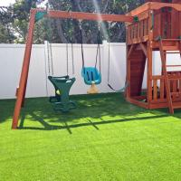 Buy cheap Rubber Backed Outdoor Artificial Grass Floor For Housetop Villa Landscape from wholesalers