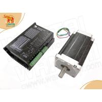 Buy cheap 1Axis Nema34 Wantai Stepper Motor 1700oz, 6A&220VAC Input Driver Spindle DQ2522MA,200Microsteps from wholesalers