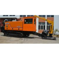 China Cralwer Integrated Horizontal Directional Drilling Equipment Multi Shift Stepless Speed on sale