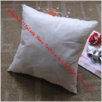 Buy cheap Hotel Cotton Throw Pillows For Sofa , Indoor / Outdoor Decorative Cushion from wholesalers