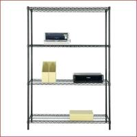 Buy cheap Multipurpose Home Organized Display Rack 4 Tier Wire Shelving 14D X 36W from wholesalers