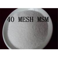 Buy cheap 40 MESH MSM Joint Health Powder Methyl Sulfonyl Methane 67 71 0 Dimethyl Sulfone from wholesalers