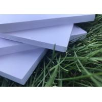 Buy cheap 7mm Cellular Pvc Sheet , High Density Pvc Foam Board For Tall Cabitnet Wall from wholesalers