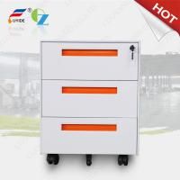 Buy cheap 3 drawer Mobile pedestal cabinet FYD-H001,sliver color,five casters,3 section from wholesalers