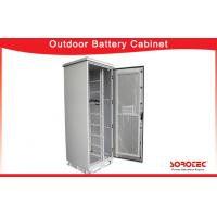 Buy cheap High Efficiency Outdoor Battery Cabinets with Protection Degree IP55 from wholesalers