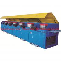 Buy cheap Automatic continous straight line wire drawing machine with high speed from wholesalers