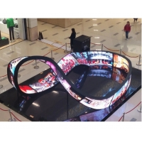 Buy cheap Customized Flexible Led Display Screen Bendable Led Video Wall Manufacturer from wholesalers