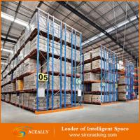 Buy cheap Heavy duty cold storage Warehouse double deep pallet racking from wholesalers