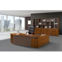 Buy cheap MDF Panel Office Desk With Drawers , Office Furniture Executive Desk Oil Proof from wholesalers