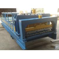 Buy cheap Steel IBR Roofing Wall Roof Tile Making Machine Hydraulic Cutting Type from wholesalers