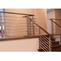 Buy cheap Home Safety Stainless Steel Rod Railing , Steel Railing Design For Balcony from wholesalers