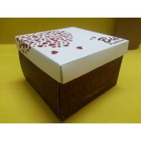 Buy cheap Cake Square Paper Gift Boxe Food Packaging Recyclable for Bakery from wholesalers