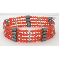 Buy cheap Various color fashion adjustable size hematite magnetic bracelet health, good for health  from wholesalers