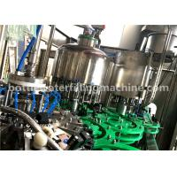 Buy cheap 4.23KW Small Glass Bottle Filling Machine Germany Purified Mineral Pure Water Bottling Plant from wholesalers