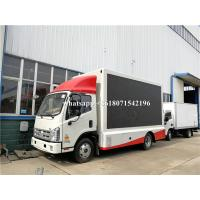 Buy cheap Outdoor Full Color P4 P5 P6 Mobile Truck LED Screen Advertising Display from wholesalers