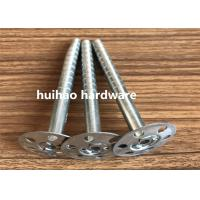 Buy cheap Galvanized Steel Rock Wool Insulation Anchor pins With 35mm Round Washer Base from wholesalers