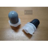Buy cheap Bullet Shape Plastic Spout Caps Inner Diameter 12mm For Food Packaging product