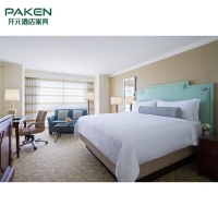 Buy cheap Hotel Resort Bedroom Furniture Sets Rattan Solid Wood Material from wholesalers