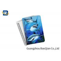 Buy cheap Decorative 3D Flip Effect Lenticular Notebook For Shark A1 / A2 / A3 Custom Size from wholesalers