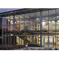 Buy cheap High Strength Lightweight Aluminum Glass Curtain Wall Corrosion Resistant from wholesalers