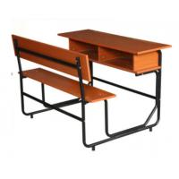 Buy cheap Double Primary School Desk And Bench , Adjustable Classroom Bench And Desk from wholesalers