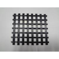 China Uniaxial / Biaxial Geogrid, Warp Knitting Polyester Geogrid For Road Construction on sale