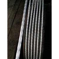 Buy cheap Cold Drawing 1 19 Inch Galvanized Stay Wire , Low Rotation Guide Wire Or Guy Wire from wholesalers