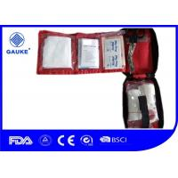 Buy cheap Professional Walking Outdoor First Aid Kit Bags With Bandage Wound Compress from wholesalers