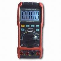 Buy cheap Auto Range Digital Multimeter with Low Battery Display and 10MHz Frequency from wholesalers