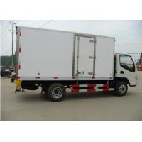 Buy cheap 5 Tons Refrigerated Box Truck Freezer Van Body Fiberglass Inner And Outer Wall from wholesalers