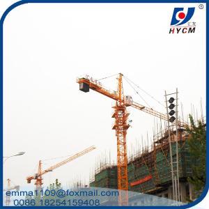 Buy cheap Boom 55 Meter Tower Crane 45m Free Standing Height Tower Kren product