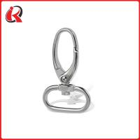 Buy cheap 100 gold plated metal swivel id lanyard hooks in bulk China manufacturer from wholesalers