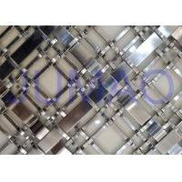 Buy cheap Silver Wire Mesh Grille Inserts For Cabinets ,Luxury Yachts Decorative Metal Mesh from wholesalers